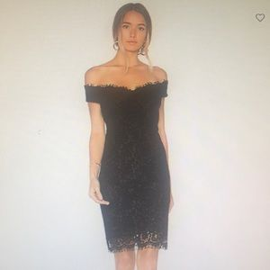 Tara Lace Off Shoulder Dress